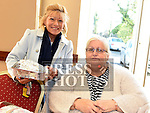 Mary Hayes and Deirdre Delaney at the coffee morning in St Peters Parish hall in aid of Clogherhead lifeboat.  Photo:Colin Bell/pressphotos.ie