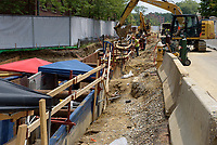 UConn Steam and Condensate Line and Vault Replacement Project. Task No. 02 - Progress Documentation 12 July 2017. Number 37 of 38 Images