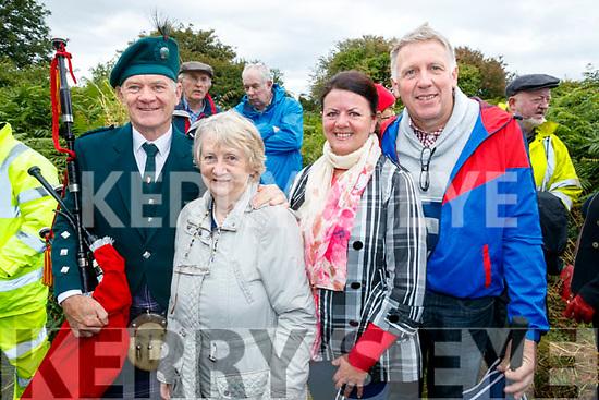 Donncha O Raghalligh, Tralee, Dawn Ni Chonchubhair, Frances Healy, Killarney and Brendan O Sullivan, Killarney<br /> Oration at Tion&oacute;l Mhic Easmainn, McKenna's Fort, Ardfert on Sunday