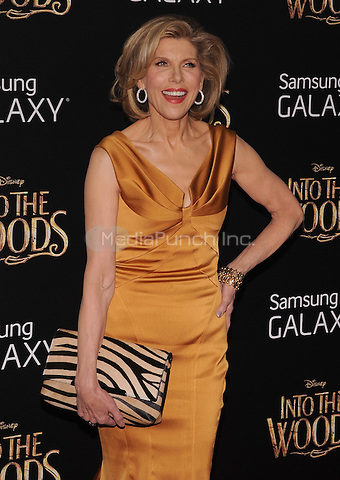 New York,NY-December 8: Christine Baranski  attends the 'Into The Woods' world premiere at the Ziegfeld Theater on December 8, 2014. Credit: John Palmer/MediaPunch