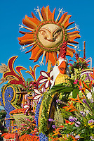 "Jack's Samba Carnival, artistry of Brazilian Carnival with its Tournament of Roses Parade float - ""Jack's Samba Carnival."""