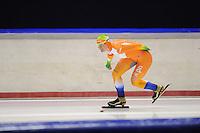 SCHAATSEN: HEERENVEEN: 22-09-2013, IJsstadion Thialf, 1e Trainingswedstrijd, Sanneke de Neeling, ©foto Martin de Jong