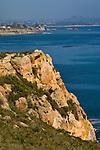 Rocky bluffs above San Luis Obispo Bay, near Avila Beach, California