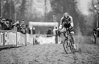 Mathieu Van der Poel (NED/Beobank-Corendon) in the sand<br /> <br /> 2016 CX UCI World Cup Zeven (DEU)