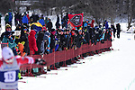 FRANCONIA, NH - MARCH 11:   Fans line the finish area During the Men's 20K Freestyle event at the Division I Men's and Women's Skiing Championships held at Jackson Ski Touring on March 11, 2017 in Jackson, New Hampshire. (Photo by Gil Talbot/NCAA Photos via Getty Images)