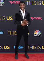 "HOLLYWOOD- SEPTEMBER 26:  Niles Fitch  at the premiere of NBC's ""This Is Us"" Season 2 at NeueHouse Hollywood on September 26, 2017 in Hollywood, California. (Photo by Scott Kirkland/PictureGroup)"