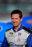 Nov. 20, 2009; Homestead, FL, USA; NASCAR Sprint Cup Series driver John Andretti during qualifying for the Ford 400 at Homestead Miami Speedway. Mandatory Credit: Mark J. Rebilas-