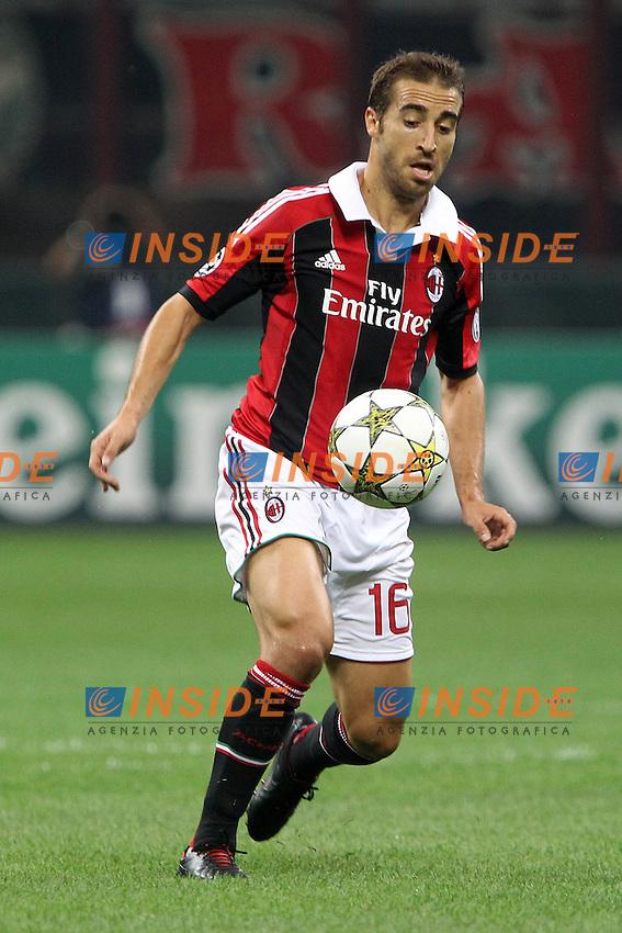 "Mathieu Flamini Milan.Milano 18/09/2012 Stadio ""S.Siro"".Football Calcio Champions League 2012/13.AC Milan v Anderlecht.Foto Insidefoto Paolo Nucci."