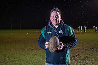 Thursday 02 February 2017<br /> Pictured: Coach Chris Rosser leads the training Session<br /> Re: Rugby is a game packed with maths and science Chris Rosser has been showing how this Youth team at Uplands Rugby Club in Swansea uses its love of the game to make maths count.NO SYNDICATION<br /> NO THIRD PARTY SYNDICATION