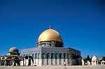 Israel, Jerusalem Old City. The Dome of the Rock and the Dome of the Chain&#xA;&#xA;<br />