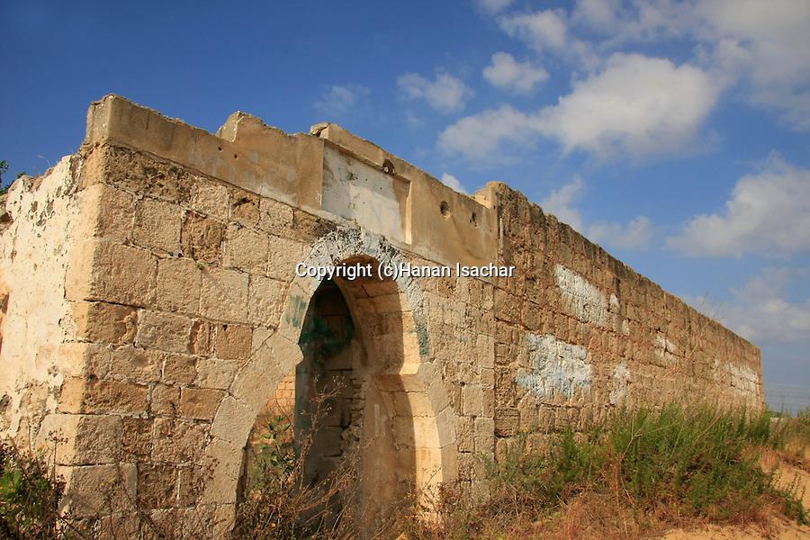 Israel, Southern Coastal Plain, ruins of the Shrine of Al Nabi Rubin