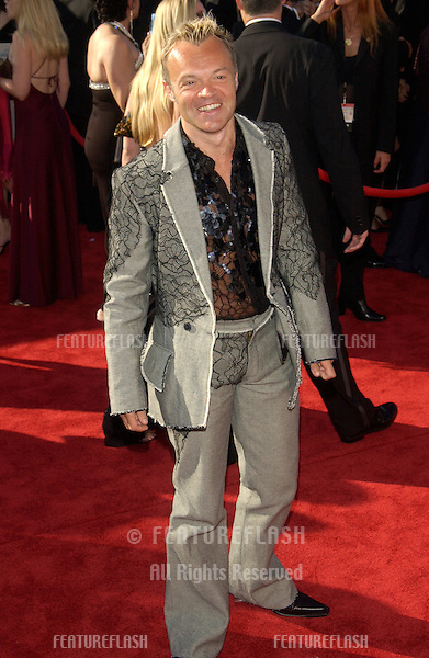 GRAHAM NORTON at the 55th Annual Primetime Emmy Awards in Los Angeles..Sept 21, 2003