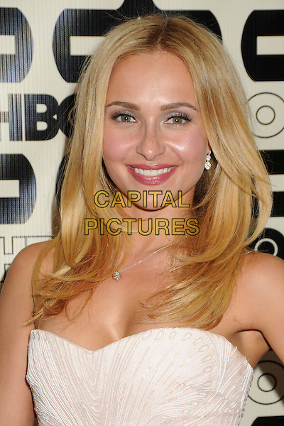 Hayden Panettiere.HBO's 70th Annual Golden Globes After Party held at Circa 55 Restaurant, Beverly Hills, California, USA..January 13th, 2013.headshot portrait pink strapless .CAP/ADM/BP.©Byron Purvis/AdMedia/Capital Pictures.
