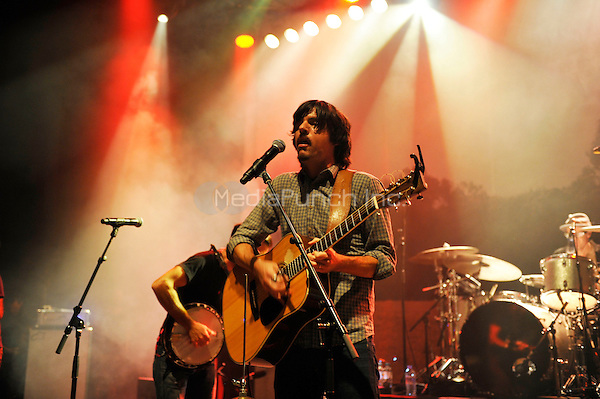 LONDON, ENGLAND - AUGUST 30: Seth Avett of 'The Avett Brothers' performing at Shepherd's Bush Empire on August 30, 2016 in London, England.<br /> CAP/MAR<br /> &copy;MAR/Capital Pictures /MediaPunch ***NORTH AND SOUTH AMERICAS ONLY***