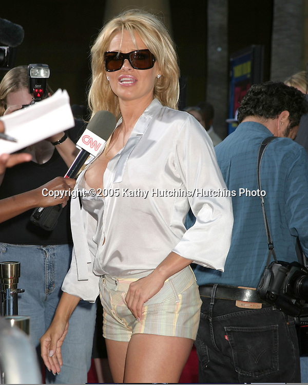 "Pam Anderson.Screening of ""RIZE"".Egyptian Theater.Los Angeles, CA.June 21, 2005.©2005 Kathy Hutchins / Hutchins Photo"