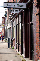 Rooming house in the city of Saint John, New Brunswick, Canada