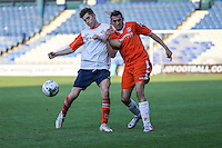 Match action from the Luton Town Supporters Charity match at Luton Town Football Club, Luton, England on 12 May 2016. Photo by David Horn/PRiME Media Images.
