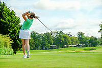 Paula Grant (Ireland) during final day of the World Amateur Team Championships 2018, Carton House, Kildare, Ireland. 01/09/2018.<br /> Picture Fran Caffrey / Golffile.ie<br /> <br /> All photo usage must carry mandatory copyright credit (&copy; Golffile | Fran Caffrey)