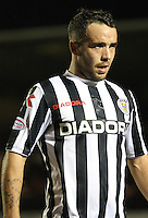 Dougie Imrie in the St Mirren v Hamilton Academical Scottish Communities League Cup match played at St Mirren Park, Paisley on 25.9.12.