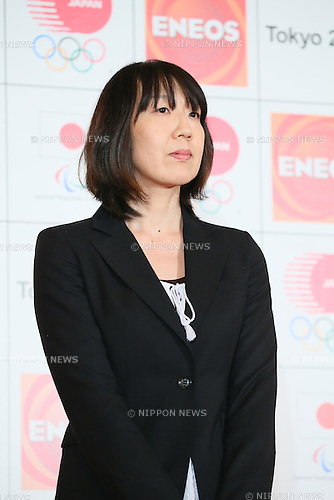 Mikiko Hagiwara, <br /> MARCH 18, 2015 : <br /> JX Nippon Oil &amp; Energy has Press conference <br /> in Tokyo. <br /> JX Nippon Oil &amp; Energy announced that <br /> it has entered into a partnership agreement with <br /> the Tokyo Organising Committee of the Olympic and Paralympic Games. <br /> With this agreement, JX Nippon Oil &amp; Energy becomes the gold partner. <br /> (Photo by YUTAKA/AFLO SPORT)