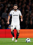 Qarabag's Rashad F. Sadygov in action during the champions league match at Stamford Bridge Stadium, London. Picture date 12th September 2017. Picture credit should read: David Klein/Sportimage