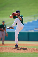 Ty Evans (17) of Lakeland Christian High School in Auburndale, FL during the Perfect Game National Showcase at Hoover Metropolitan Stadium on June 20, 2020 in Hoover, Alabama. (Mike Janes/Four Seam Images)