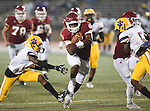 Brother Martin defeats Edna Karr, 44-41, in a game played at Tad Gormley Stadium in New Orleans on September 18,2015.