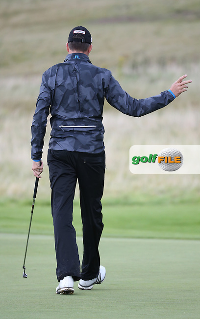 Simon Thornton (IRL) during the final round of  The 106th Irish PGA Championship, at the Moy Valley Hotel & Golf Resort, Kildare, Ireland.  25/09/2016. Picture: David Lloyd | Golffile.