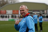 Woking manager Alan Dowson ahead of  Woking vs Watford, Emirates FA Cup Football at The Laithwaite Community Stadium on 6th January 2019
