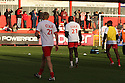 Stevenage players warm-up wearing Mitchell Cole tee-shirts. Stevenage v Crawley Town - npower League 1 -  Lamex Stadium, Stevenage - 15th December, 2012. © Kevin Coleman 2012..