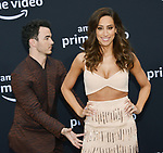 Kevin Jonas, Danielle Jonas 128 arrives at the Premiere Of Amazon Prime Video's Chasing Happiness at Regency Bruin Theatre on June 03, 2019 in Los Angeles, California.