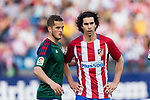 Tiago Cardoso Mendes of Atletico de Madrid (R) and Goran Causic of Osasuna (L) during the La Liga match between Atletico de Madrid vs Osasuna at Estadio Vicente Calderon on 15 April 2017 in Madrid, Spain. Photo by Diego Gonzalez Souto / Power Sport Images