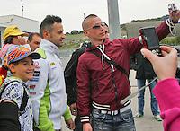 2012 Moto GP Test training Jererz Mar 24th. The picture show Valentino Rossi (Italian rider Ducati Team DUCATI)