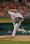 19 May 2012: Baltimore Orioles pitcher Luis Ayala on the mound against the Washington Nationals at Nationals Park in Washington, DC. The Orioles defeated the Nationals 6-5 in the second game of their 3-game series. Mandatory Credit: Ed Wolfstein Photo