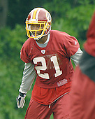 Ashburn, VA - June 16, 2007 -- Washington Redskin safety Sean Taylor (21) participates in day 2 of the second and final mini-camp at Redskin Park in Ashburn, Virginia on Saturday, June 16, 2007..Credit: Ron Sachs / CNP