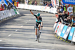 Emanuel Buchmann (GER) Bora-Hansgrohe wins by a minute over the chase during Stage 5 of the Tour of the Basque Country 2019 running 149.8km from Arrigorriaga to Arrate, Spain. 12th April 2019.<br /> Picture: Colin Flockton | Cyclefile<br /> <br /> <br /> All photos usage must carry mandatory copyright credit (© Cyclefile | Colin Flockton)