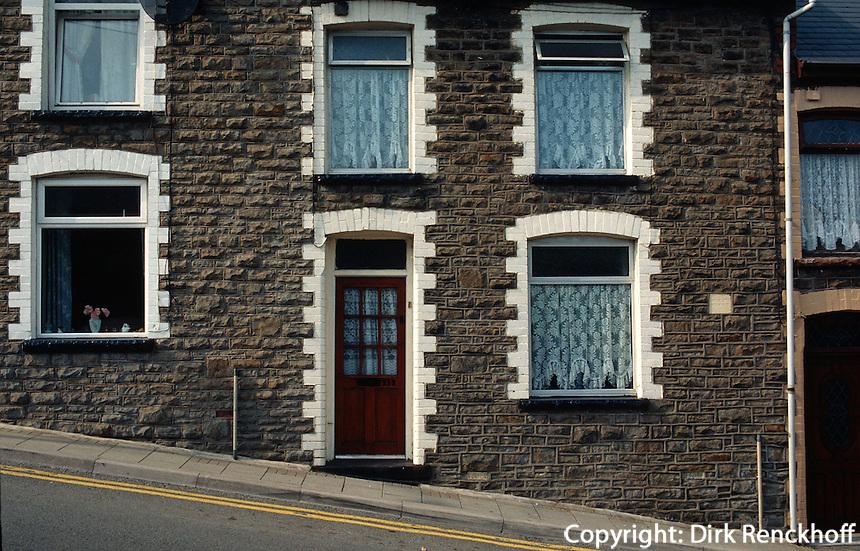 Großbritannien, Wales, Bergarbeitersiedlung in Rhonddavalley