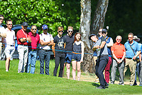 Kristoffer Broberg on the 4th fairway during the BMW PGA Golf Championship at Wentworth Golf Course, Wentworth Drive, Virginia Water, England on 26 May 2017. Photo by Steve McCarthy/PRiME Media Images.