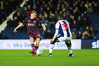 George Byers of Swansea City in action during the Sky Bet Championship match between West Bromwich Albion and Swansea City at The Hawthorns in Birmingham, England, UK. Wednesday 13 March 2019