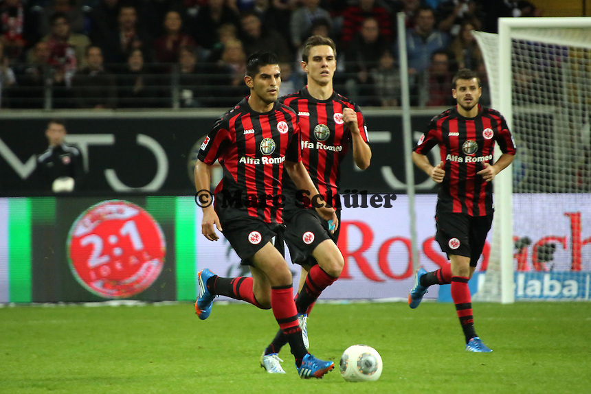 Carlos Zambrano (Eintracht) - Eintracht Frankfurt vs. Hamburger SV, Commerzbank Arena