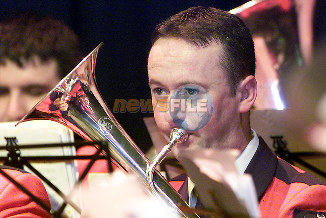 Performers at Lourdes Brass Band concert in the Droichead Arts centre..Picture: Paul Mohan/Newsfile