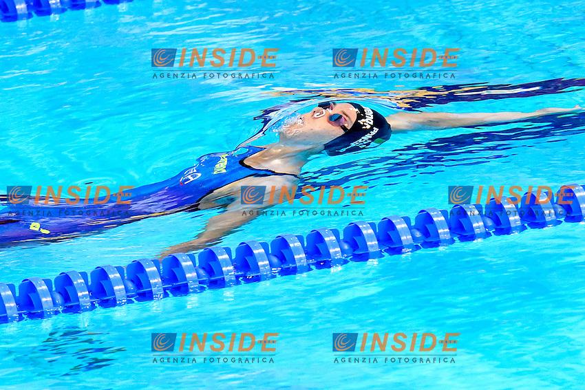 Margherita PANZIERA ITA <br /> 100m Backstroke Women Preliminary <br /> London, Queen Elizabeth II Olympic Park Pool <br /> LEN 2016 European Aquatics Elite Championships <br /> Swimming<br /> Day 10 18-05-2016<br /> Photo Andrea Staccioli/Deepbluemedia/Insidefoto