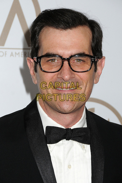 Ty Burrell.At the 24th Annual Producers Guild Awards held at the Beverly Hilton Hotel, Beverly Hills, California, USA, .26th January 2013..PGAs PGA arrivals portrait headshot glasses  tuxedo tux white shirt  .CAP/ADM/BP.©Byron Purvis/AdMedia/Capital Pictures.
