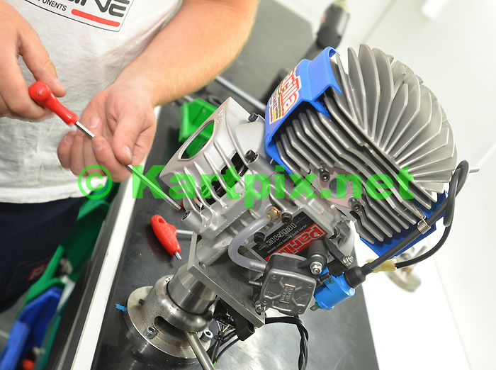Striping Engine at JM Racing