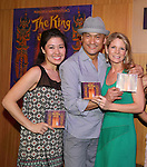 Ruthie Ann Miles, Ken Watanabe and Kelli O'Hara from the revival of Rodgers and Hammerstein's 'The King and I'  celebrate the musical's new Broadway cast recording with a concert and CD signing at Barnes & Noble east 86th street on June 11, 2015 in New York City.