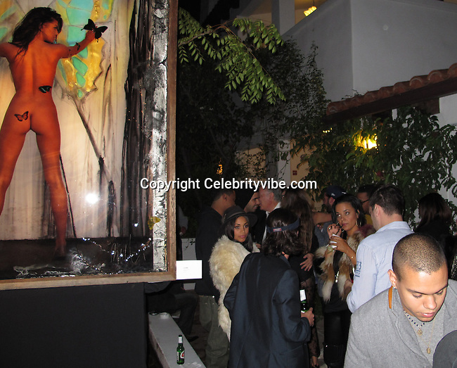"Drake and Evan Ross..""Culo By Mazzucco"" Book and Exhibit Launch Party..Sunset Marquis Hotel & Villas..West Hollywood, CA, USA..Saturday, November 19, 2011..Photo By CelebrityVibe.com..To license this image please call (323) 325-4035; or Email: CelebrityVibe@gmail.com ; .website: www.CelebrityVibe.com .**EXCLUSIVE**"