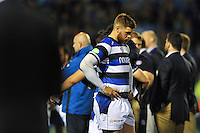 Dave Attwood stands dejected at the final whistle. Amlin Challenge Cup Final, between Bath Rugby and Northampton Saints on May 23, 2014 at the Cardiff Arms Park in Cardiff, Wales. Photo by: Patrick Khachfe / Onside Images