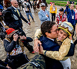 May 4, 2019 : Jockey Flavien is congratulated his mount, Country House, was awarded the win in the Kentucky Derby on Kentucky Derby Day at Churchill Downs on May 4, 2019 in Louisville, Kentucky. Scott Serio/Eclipse Sportswire/CSM