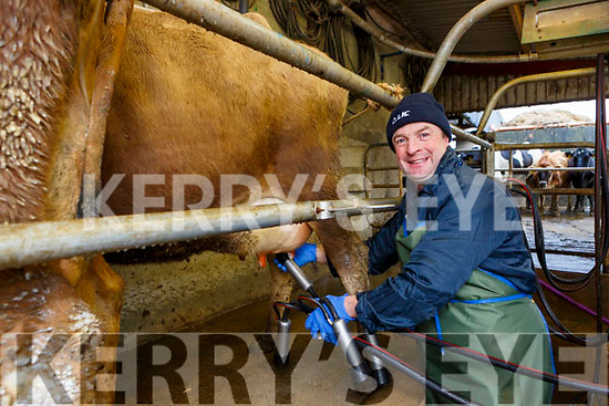 Jerimiah Daly Counguilla Scartaglen with his family who is now milking only once a day