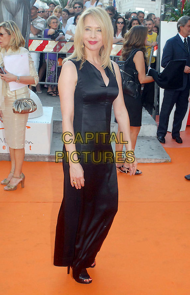 ROSANNA ARQUETTE.Roma Fiction Fest, Rome, Italy.July 2nd, 2007.full length black sleeveless dress.CAP/OME.© Botteghi/Omega/Capital Pictures.